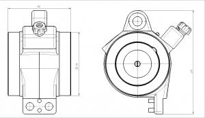 Электромагнит ЭМС-0,9 (МЛЗ)