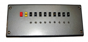Панель (лифтёра) приказа ПЛ-3100